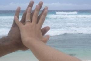 La bague de fiançailles de ma soeur