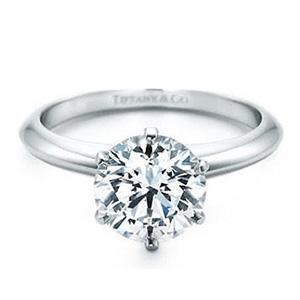 On ne peut parler bague de fiançailles sans penser à Tiffany's ...